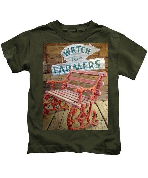 Farmer Bench Kids T-Shirt