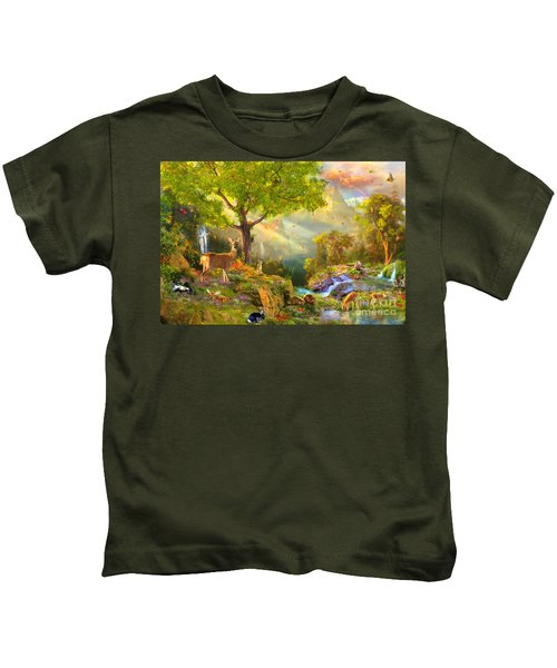 Fawn Mountain Kids T-Shirt