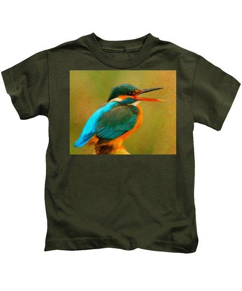 Feathered Friends Kids T-Shirt