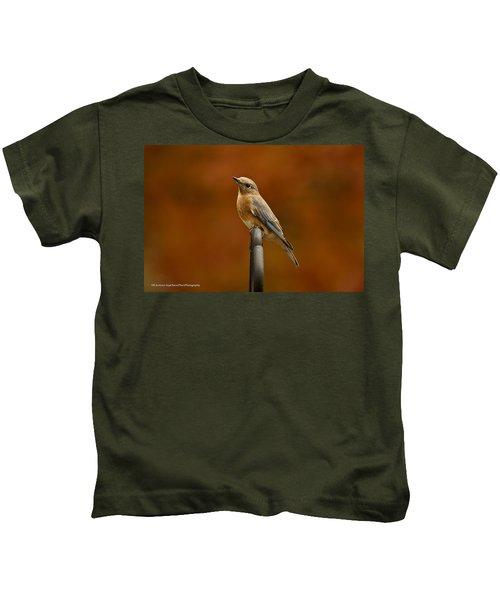 Female Bluebird Kids T-Shirt