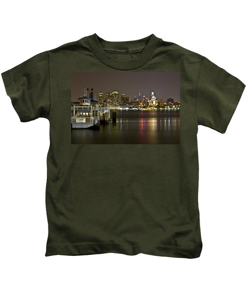 Ferry To The City Of Brotherly Love Kids T-Shirt