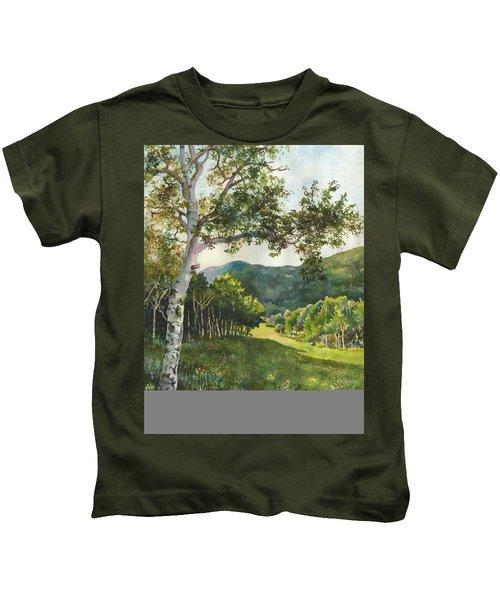 Field Of Light At Caribou Ranch Kids T-Shirt