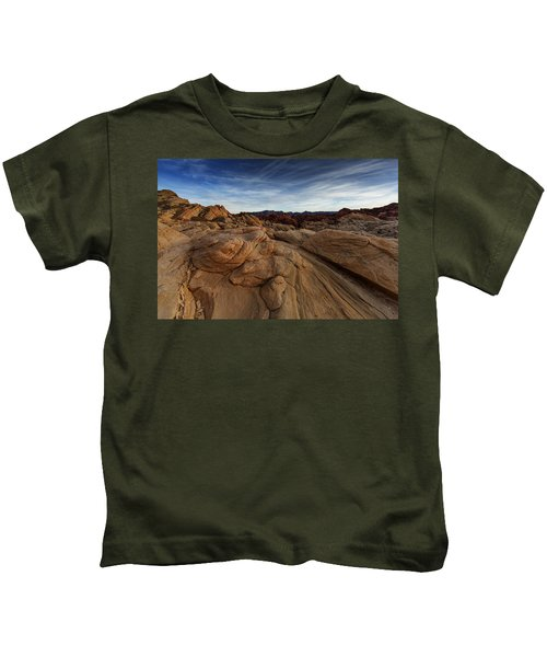 Fire Canyon, Valley Of Fire Kids T-Shirt