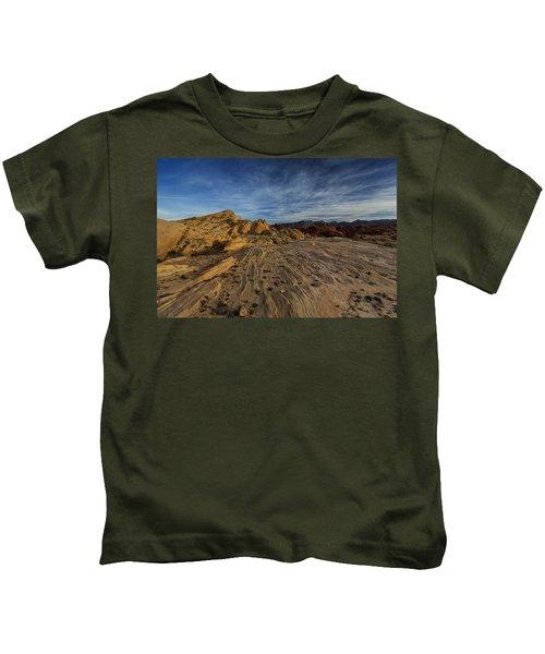 Fire Canyon Rim Kids T-Shirt