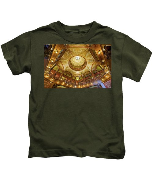 Flagler College Rotunda St Augustine Kids T-Shirt