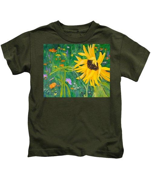 Flower Fun Kids T-Shirt