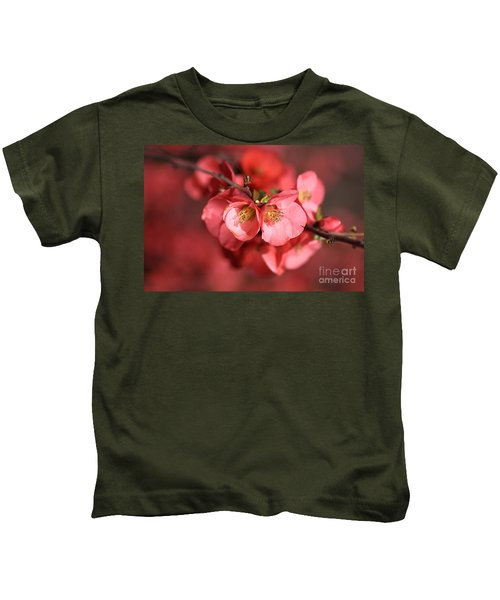 Flowering Quince Kids T-Shirt