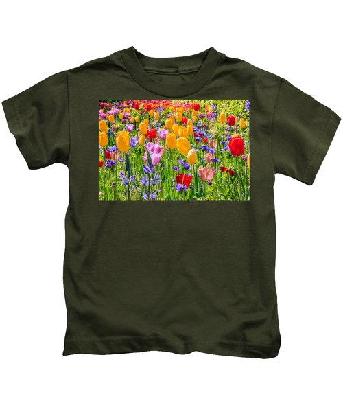 Flowers Everywhere Kids T-Shirt