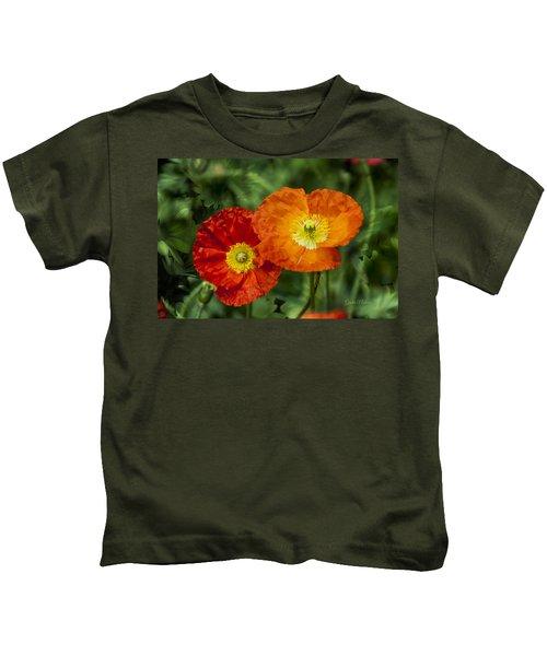 Flowers In Kodakchrome Kids T-Shirt