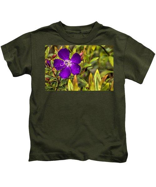 Flowers Love Water Kids T-Shirt