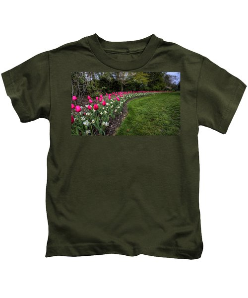 Flowers Of Spring Kids T-Shirt