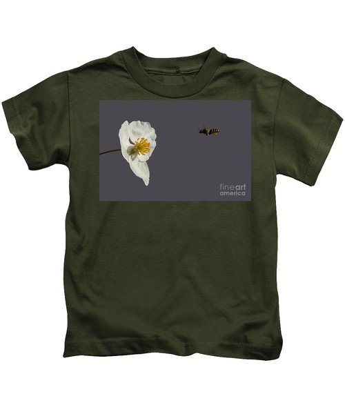 Flying In For Breakfast Kids T-Shirt