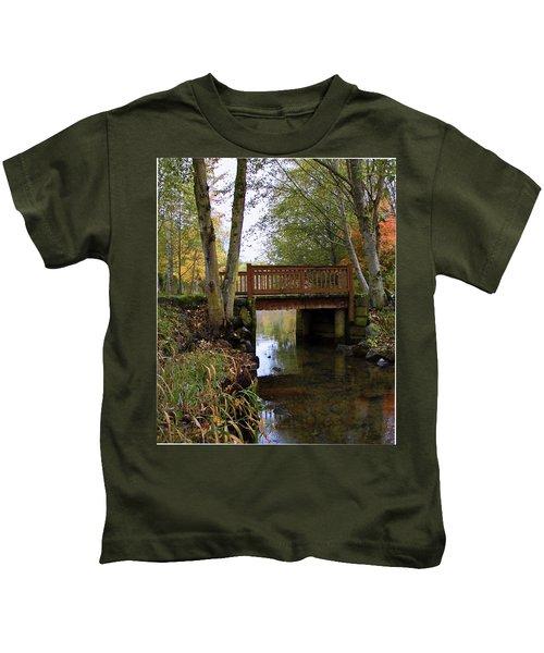 Foot Bridge Kids T-Shirt