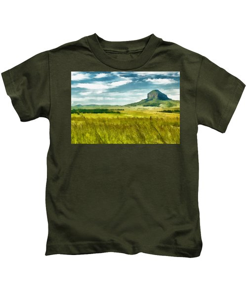 Forgotten Fields Kids T-Shirt
