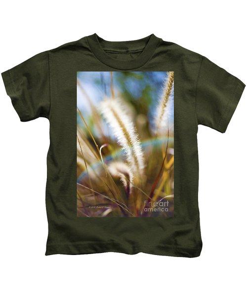 Fountain Grass Kids T-Shirt