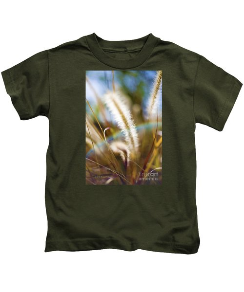 Fountain Grass Kids T-Shirt