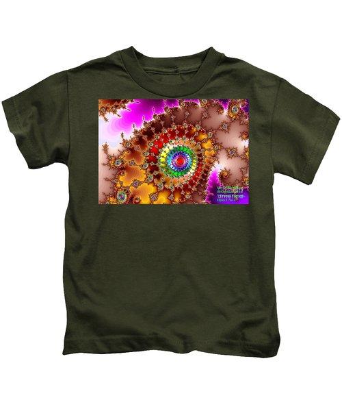 Fractal Fantasia Opus 1 No 4. H A Kids T-Shirt