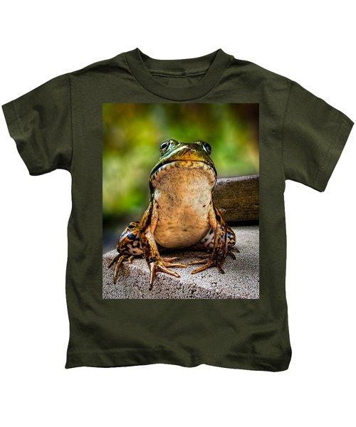 Frog Prince Or So He Thinks Kids T-Shirt