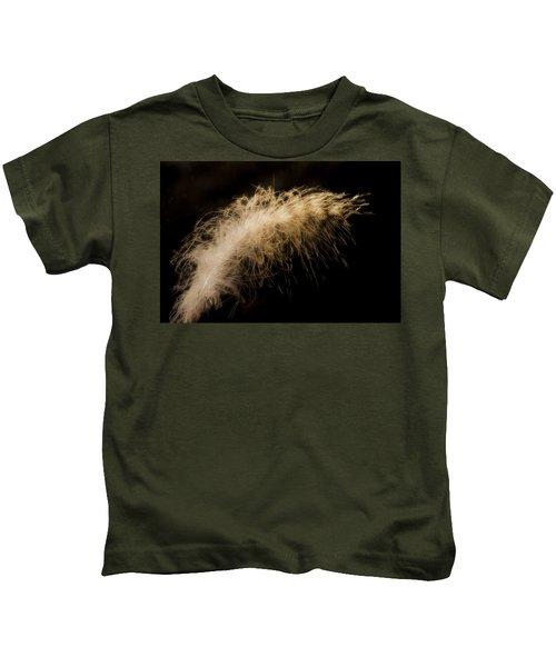 Fuzzy Feather Kids T-Shirt