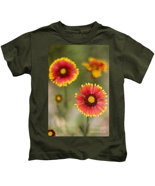 Gaillardia 'arizona Sun' Kids T-Shirt