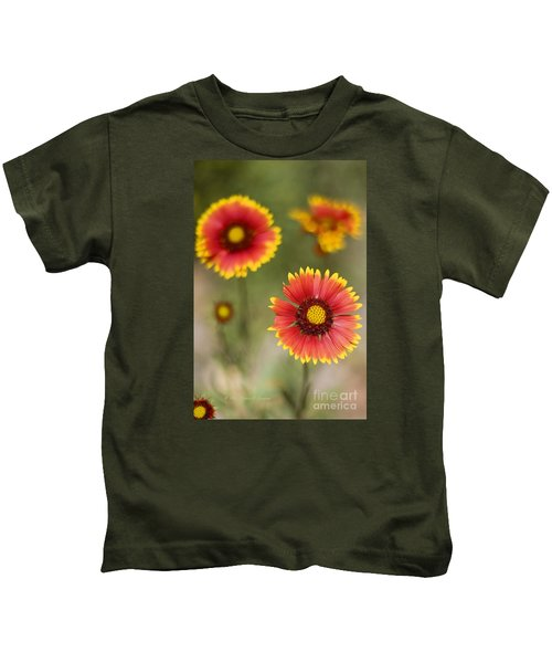 Gaillardia 'arizona Sun' Kids T-Shirt