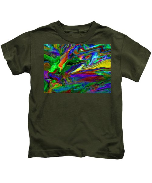 Galactic Storm Kids T-Shirt