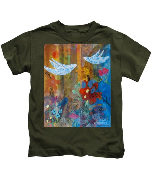 Garden Of Love Kids T-Shirt
