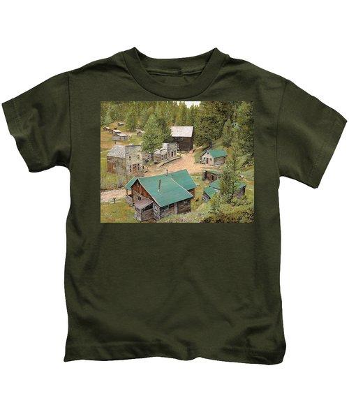 Garnet In Montana Kids T-Shirt