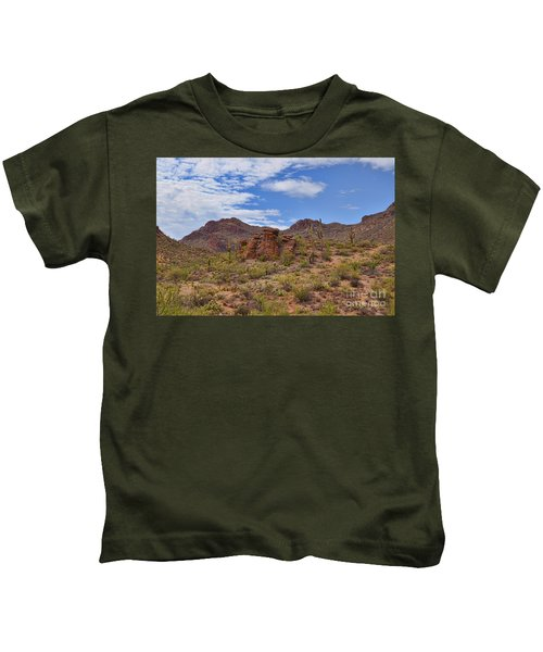 Gates Pass Scenic View Kids T-Shirt