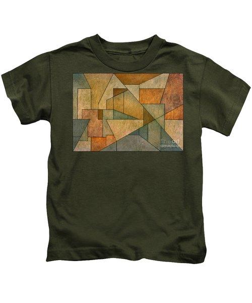 Geometric Abstraction Iv Kids T-Shirt