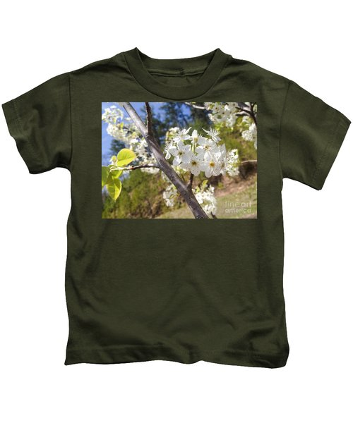 Georgia Blossoms Kids T-Shirt
