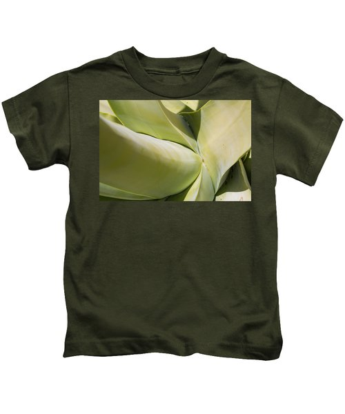 Giant Agave Abstract 9 Kids T-Shirt
