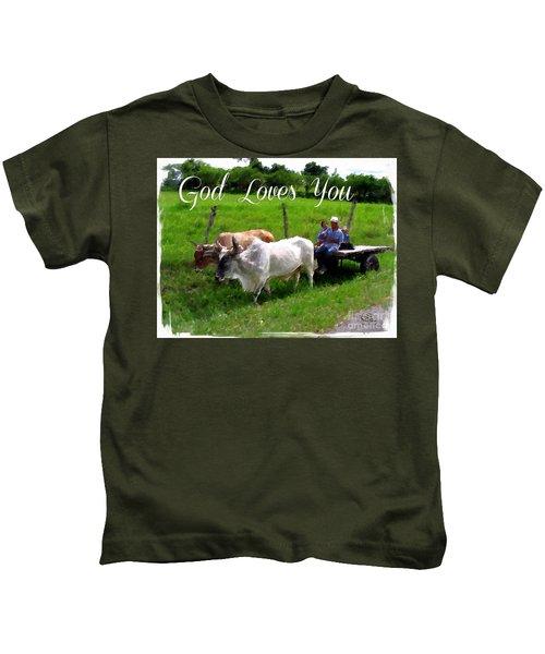 God Loves You Kids T-Shirt
