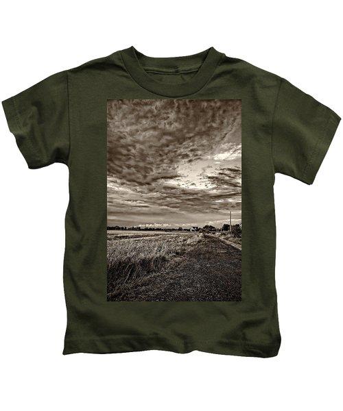 Goin' Home Sepia Kids T-Shirt