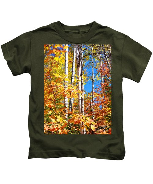 Gold Autumn Kids T-Shirt