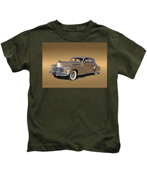 Golden Cadillac 1941 Fleetwood Kids T-Shirt