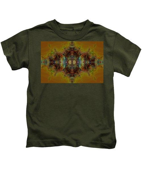 Golden Tapestry Kids T-Shirt