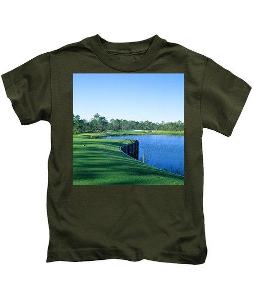 Golf Course At The Lakeside, Regatta Kids T-Shirt
