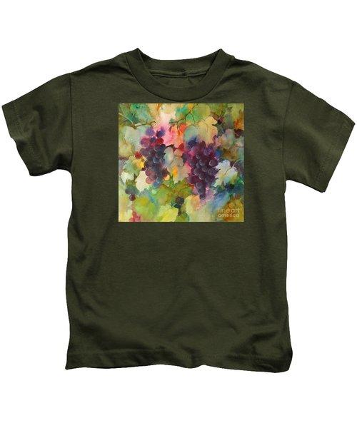 Grapes In Light Kids T-Shirt