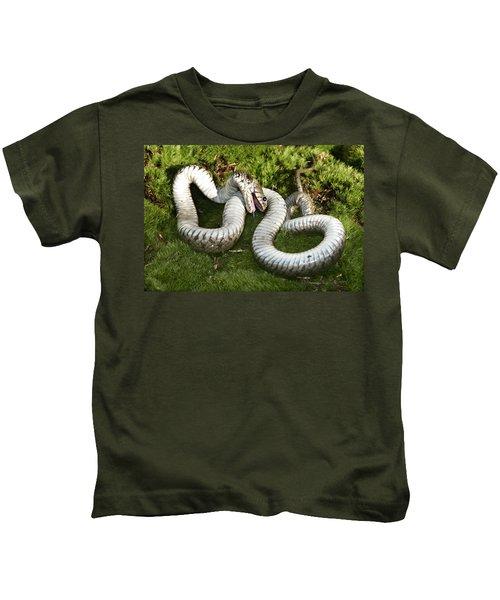 Grass Snake Playing Dead Kids T-Shirt