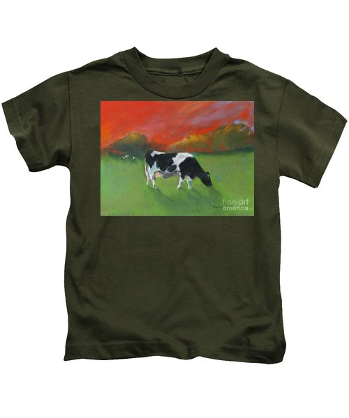 Grazing Cow Kids T-Shirt
