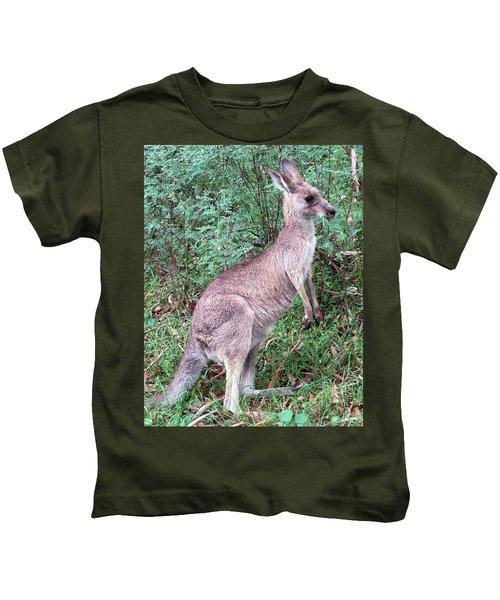 Grazing In The Grass Kids T-Shirt by Ellen Henneke