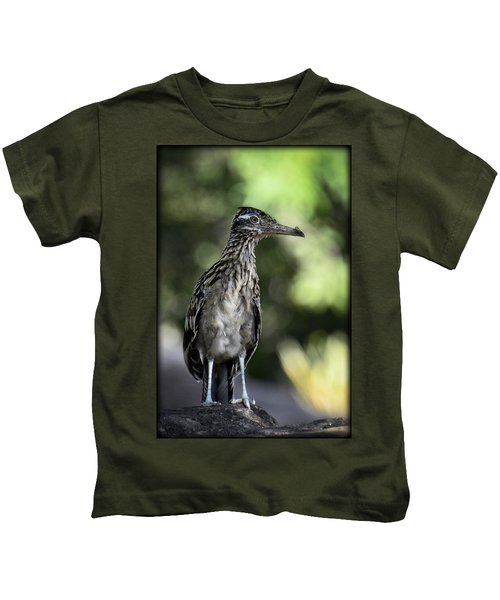 Greater Roadrunner  Kids T-Shirt by Saija  Lehtonen