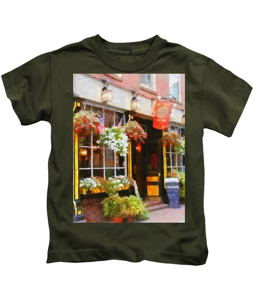 Green Dragon Tavern Kids T-Shirt