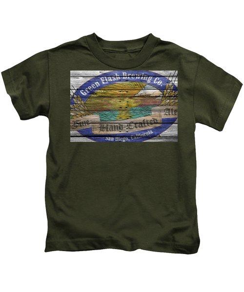 Green Flash Brewing Kids T-Shirt