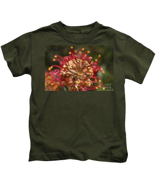 Grevillea Superb Australian Flora Kids T-Shirt