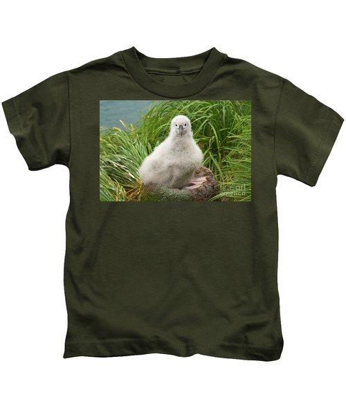 Grey-headed Albatross Chick Kids T-Shirt