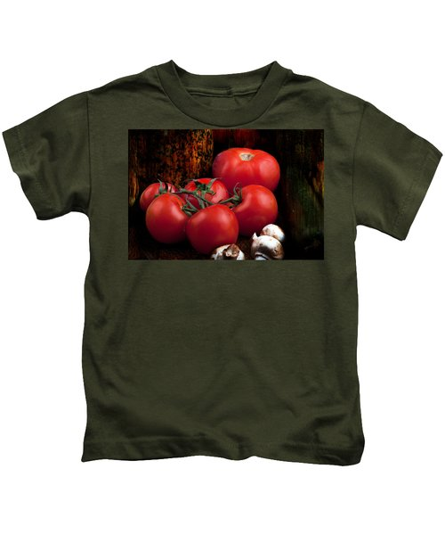 Group Of Vegetables Kids T-Shirt