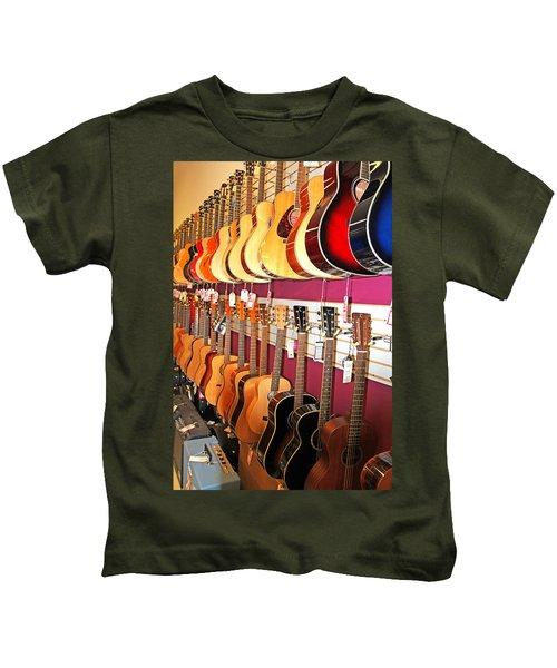 Guitars For Sale Kids T-Shirt