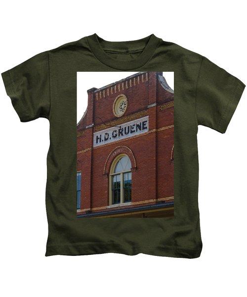 H D Gruene Kids T-Shirt